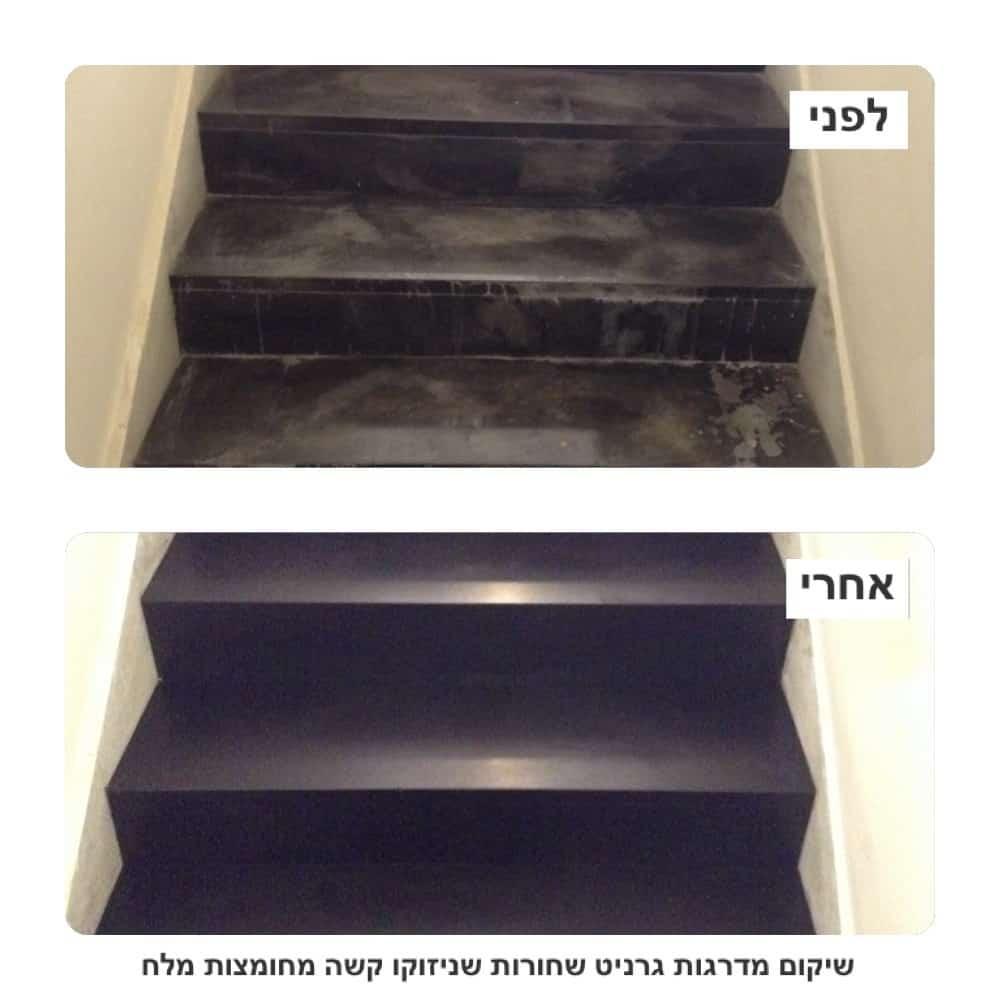 סילר לבטון לפני ואחרי